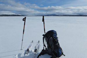 Skitour auf dem südlichen Kungsleden
