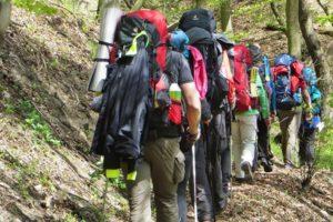 Trekking-Training: Mit Rucksack und Zelt durch die Eifel